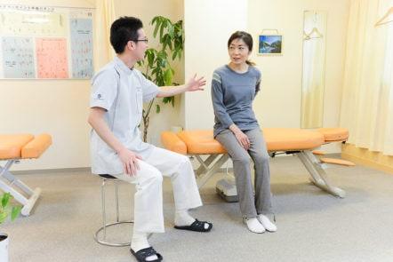 腰痛 姿勢指導